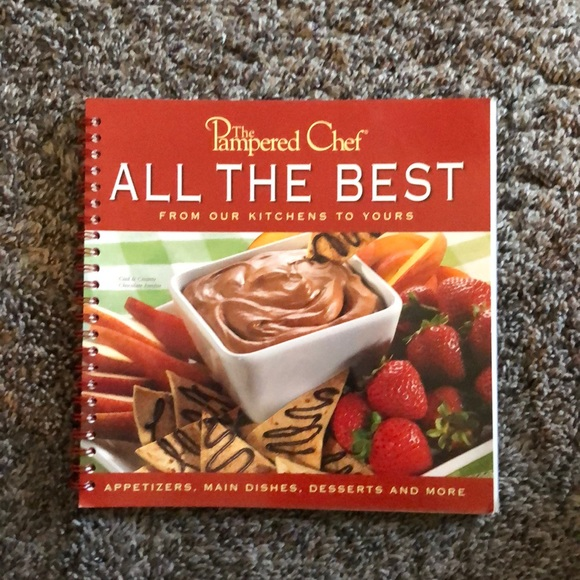 Pampered Chef Other - The Pampered Chef cookbook All The Best